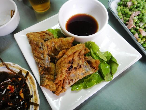 申福飯店 帯魚干煎