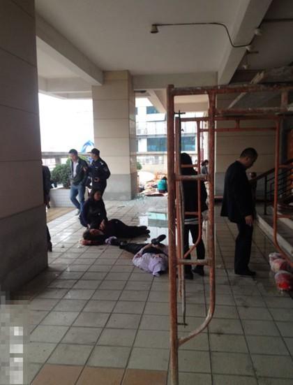 東莞 中国石油レストラン爆発事故 (6)