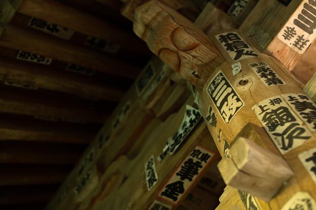 鎌倉フォトウォーク2012 - 屋根の裏
