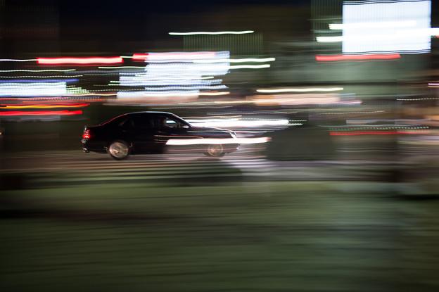 鎌倉フォトウォーク 2012 - 車の流し撮り
