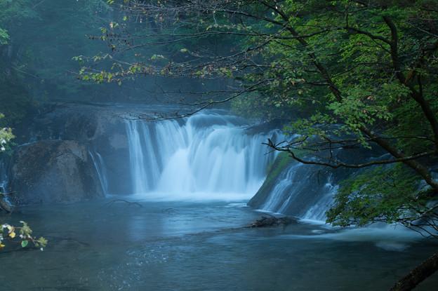 湯川にある滝