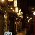 Photos: 浅草夜の看板