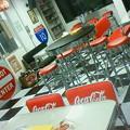 写真: 西荻ベースのダイナー(食堂)アメリカンです。
