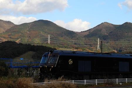 三日月山とななつ星in九州 2014/01/26