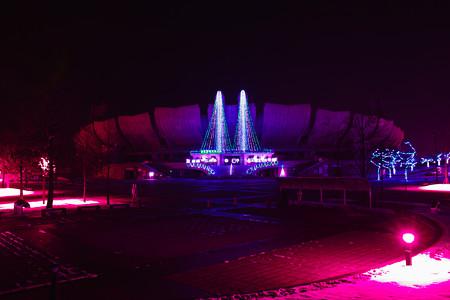 ライトアップ球場