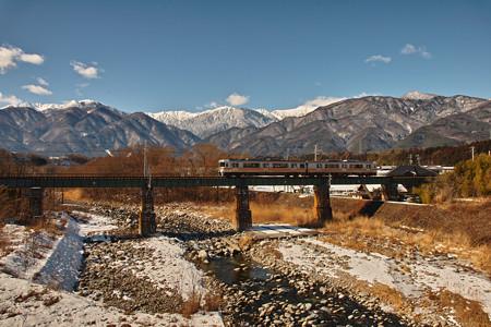 Alpsと飯田線・晴れ