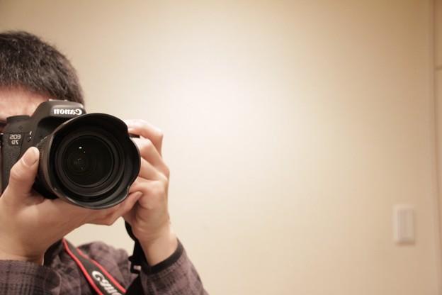 Photos: 自画像?