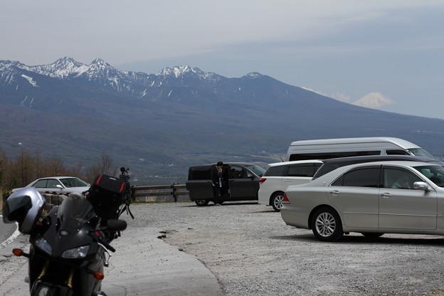 ビーナスラインからの富士山