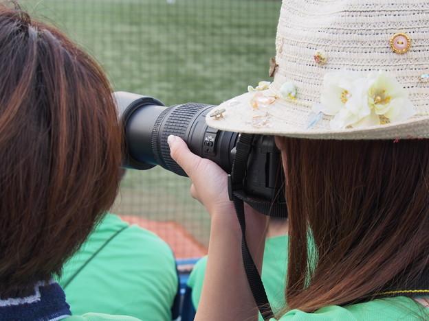 他の人のカメラが気になります…