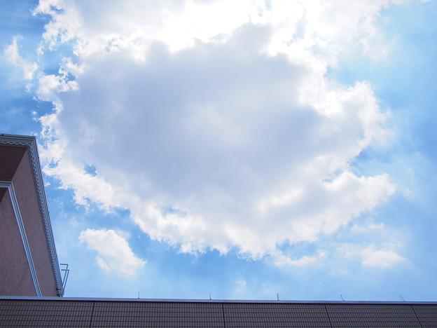 8.20の空と雲