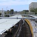 Photos: 今日の秋空と電車