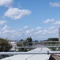 SIGMA30mm f2.8 試し撮り いつもの景色 秋空と雲