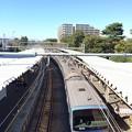 写真: 今日の萩山駅