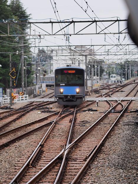 「萩山駅のホームから」