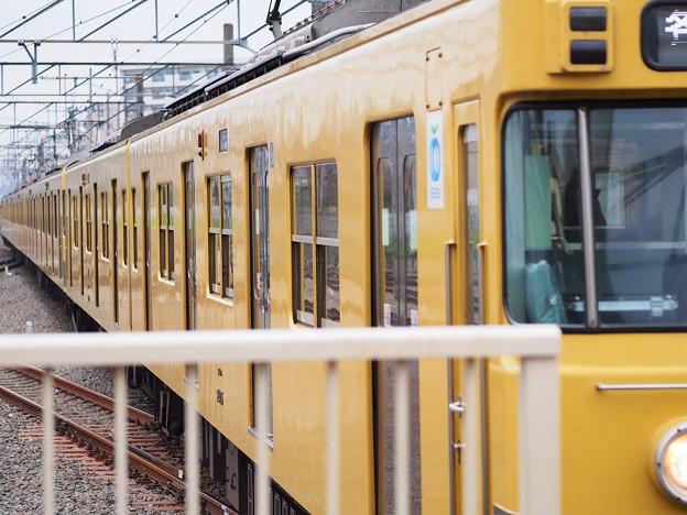 田無駅ホーム西側端から2