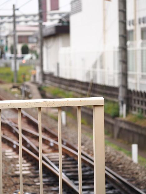 田無駅ホーム西側端~スナップ