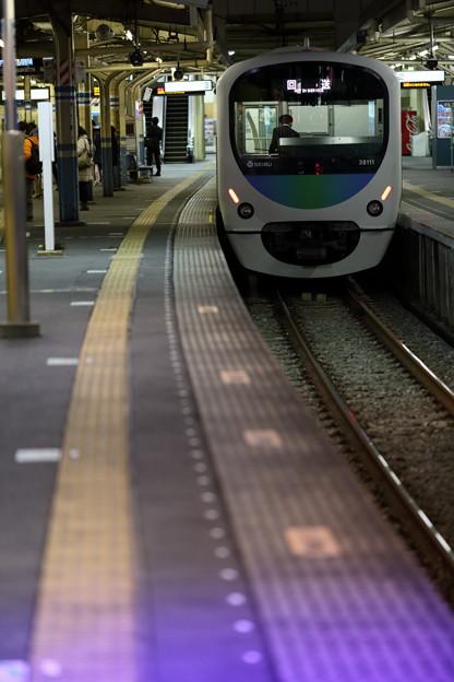 スマイルトレイン~田無駅ホーム