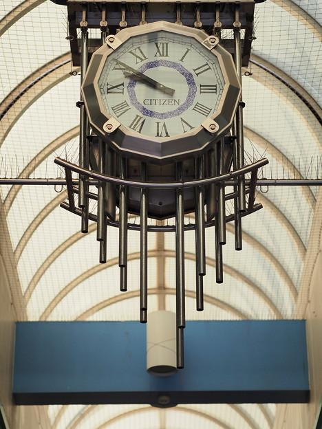 「田無駅のシチズン時計」