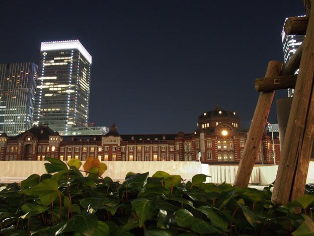 写真: 東京駅旧駅舎