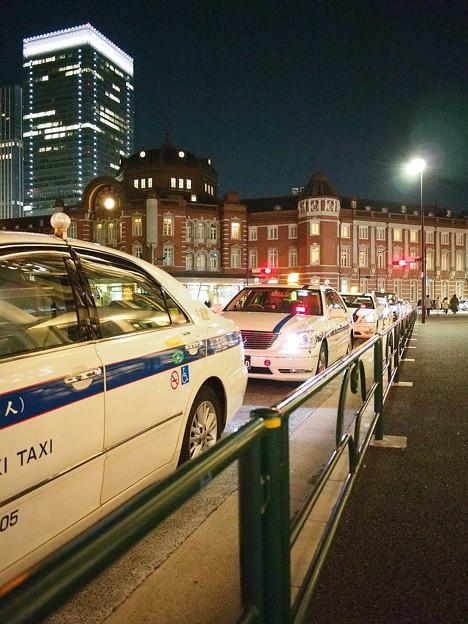 深夜の東京駅