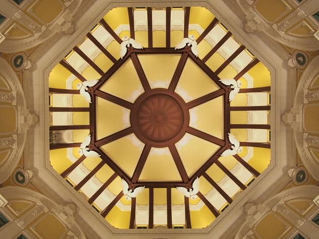 丸の内駅舎・天井