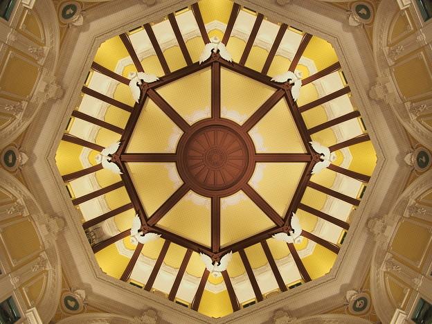 「丸の内駅舎・天井」