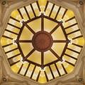 写真: 「丸の内駅舎・天井」