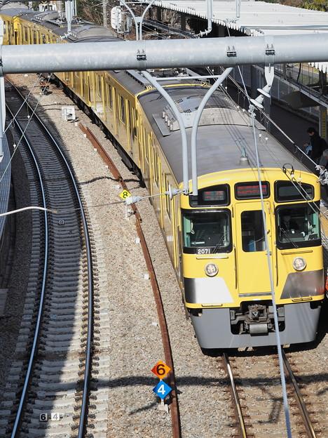 電車~萩山駅