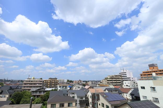 ~真夏の午後の雲~