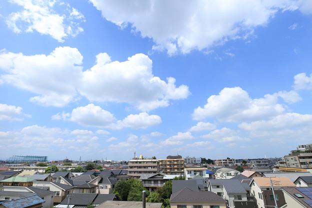 「真夏の午後の雲」