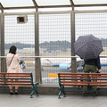成田デビューは小雨まじり・・・