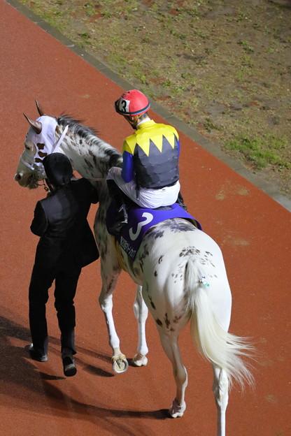 ぶちこ号とC.ルメール騎手