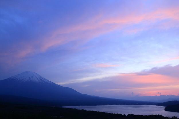 パノラマ台(三国峠)からの夕景