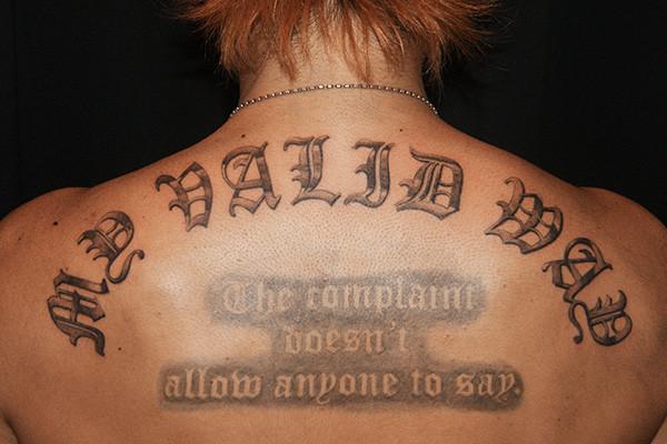 タトゥー 文字 レタリング tattoo lettering