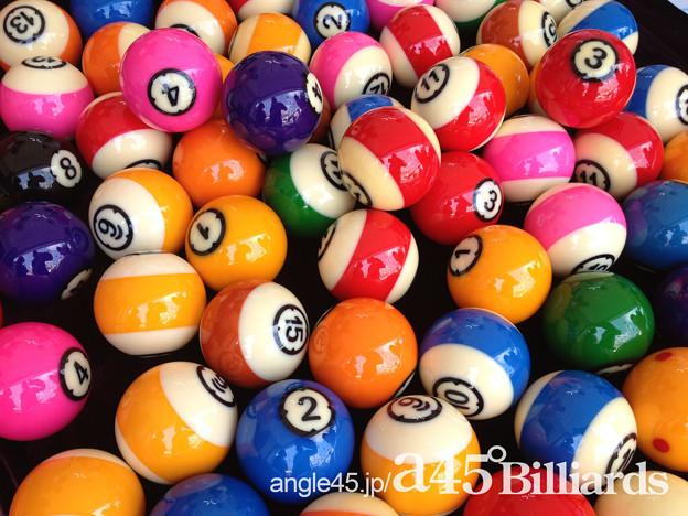 ビリヤードのボール