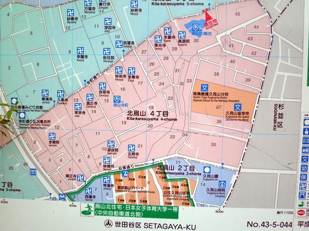 烏山寺町-0タウンマップ