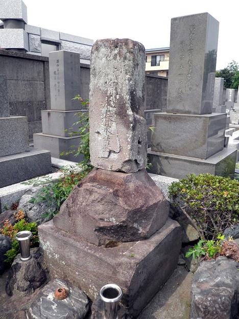 烏山寺町-05妙善寺・為永春水の墓