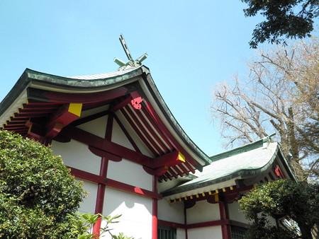 粕谷八幡神社-04拝殿c_本殿