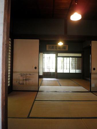 蘆花恒春園-03梅花書屋c_「梅花書屋」の額(奥)