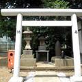 伊豆美神社(狛江)-05b靖国神社_砲弾