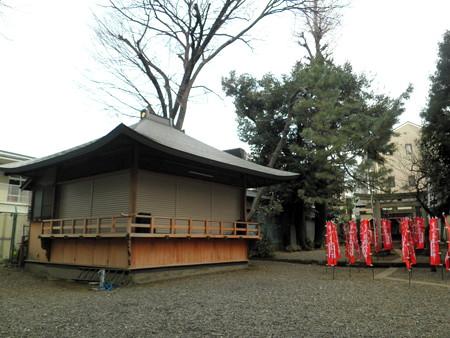 上目黒氷川神社-05神楽殿