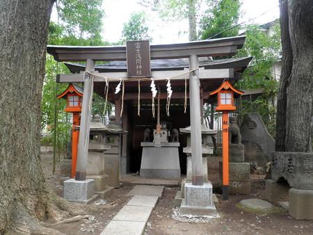 上目黒氷川神社-07富士浅間神社a