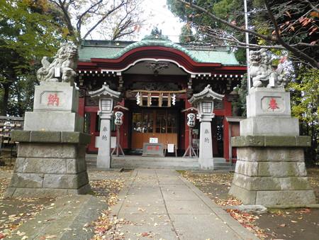 駒繋神社-03拝殿a