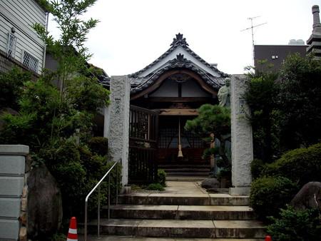 妙光寺(世田谷区奥沢)-01山門・本堂