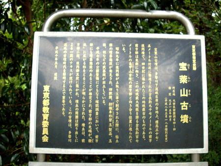 多摩川台公園-03宝莱山古墳(宝来山古墳)b_INFO