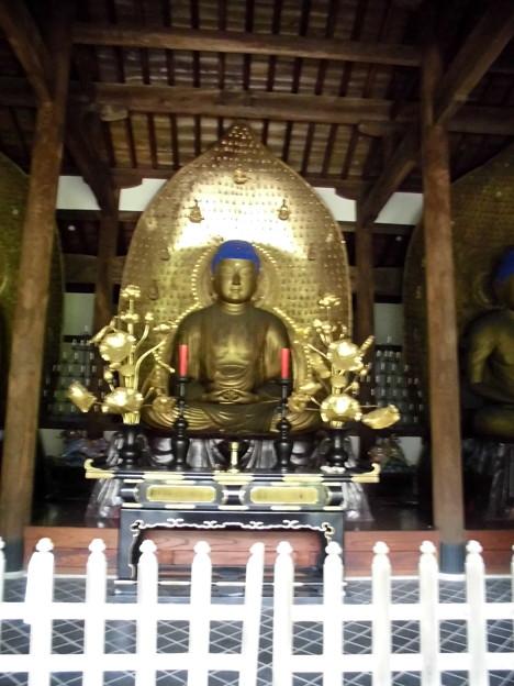九品仏-15三仏堂(中央):上品阿弥陀如来像a上品上生(3)