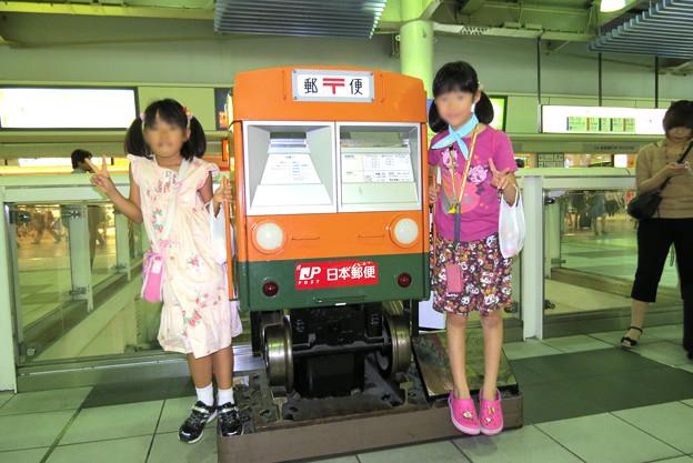13_品川駅構内電車型ポスト