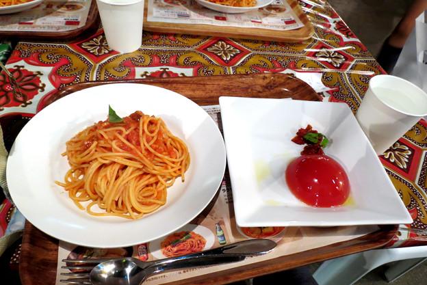 17_スパゲティ&トマトゼリー