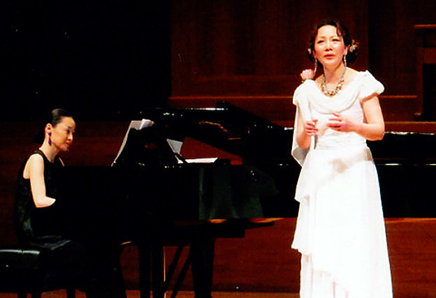 Pianist Yoshiko Itsubo Tokyo Japan Repetiteur Korrepetitor Corépétiteur Corepetiteur 伊坪淑子 いつぼよしこ