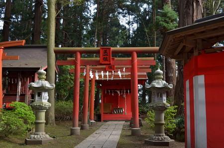 櫛引八幡宮・松福稲荷神社